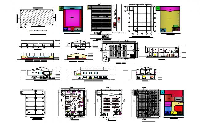 Communal House plan Detail
