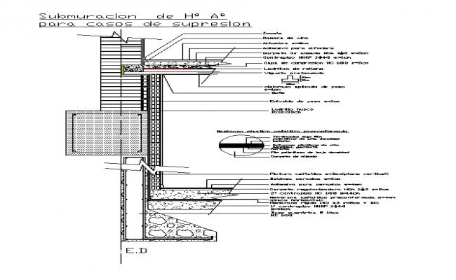 Concrete abutment wall