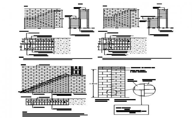 Concrete block system