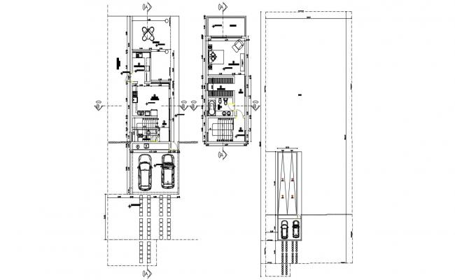 Condominium Architecture Design AutoCAD Drawing Plan