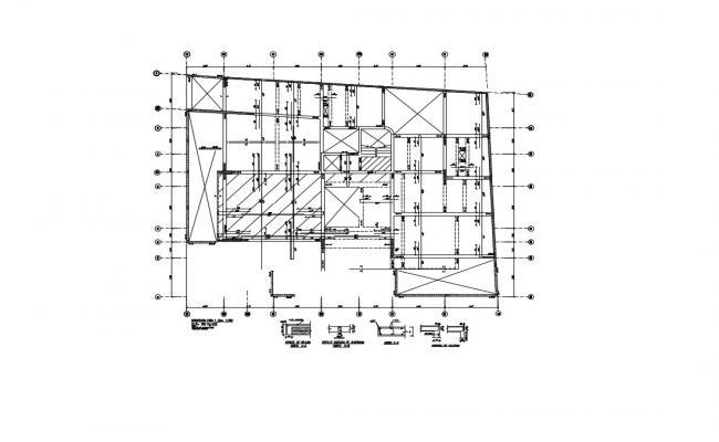 Condominium Floor Plan In DWG File