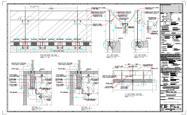 Connection detail of pipeline and structure view detail dwg file