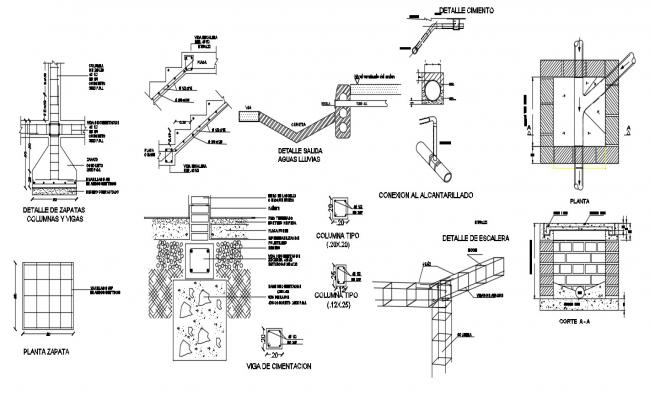 Construction Details In DWG File