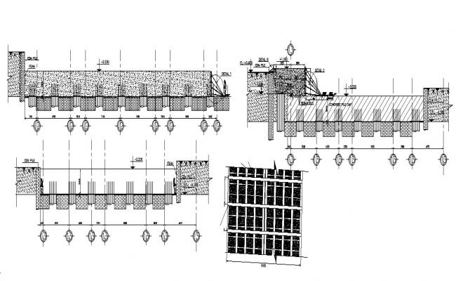 Construction Detail Drawing In AutoCAD File
