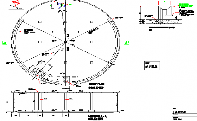 Construction detail layout