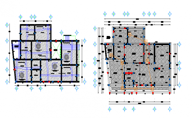 Construction detail layout plan