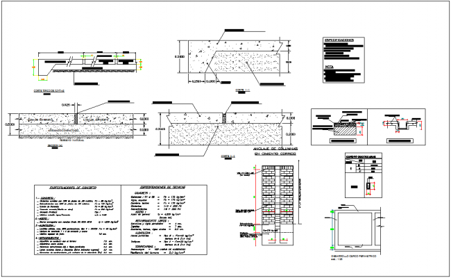 Construction detail of recycles plant dwg file