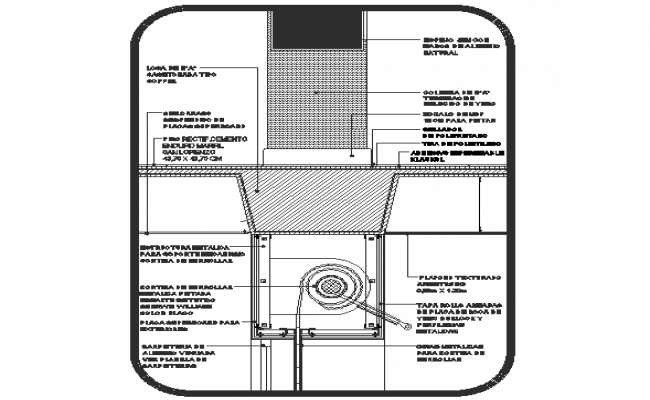 Construction details of metal roll up curtain shade