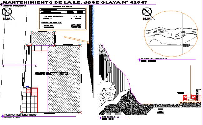 Construction layout plan