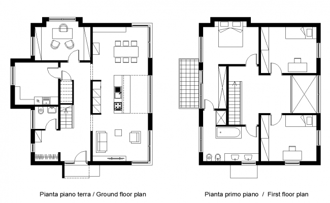 Construction plan of a building structure detail layout file