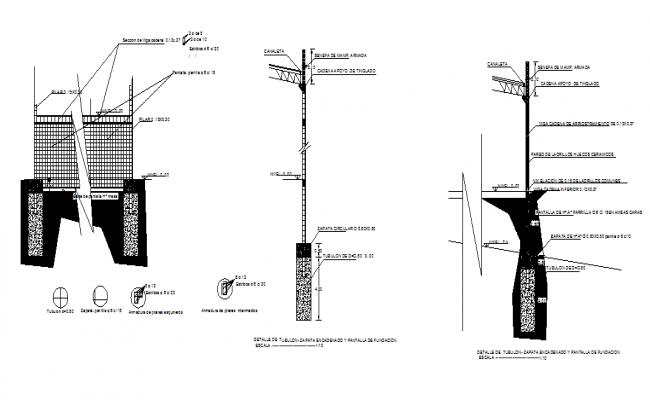 Construction sectional details