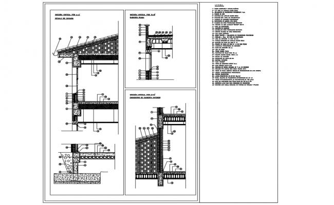 Constructive Section plan