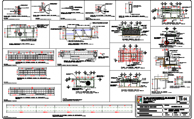 Constructive and auto-cad details of admin government building dwg file