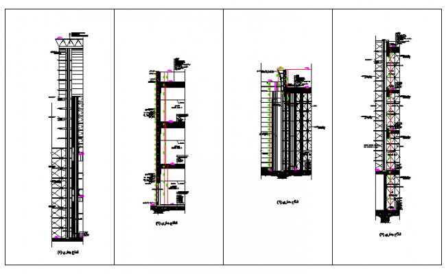 Corporate Building construction plan