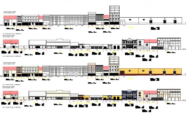 Corporate Building elevation design