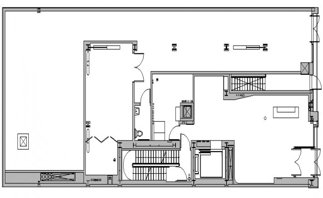 Corporate Office Layout autocad file