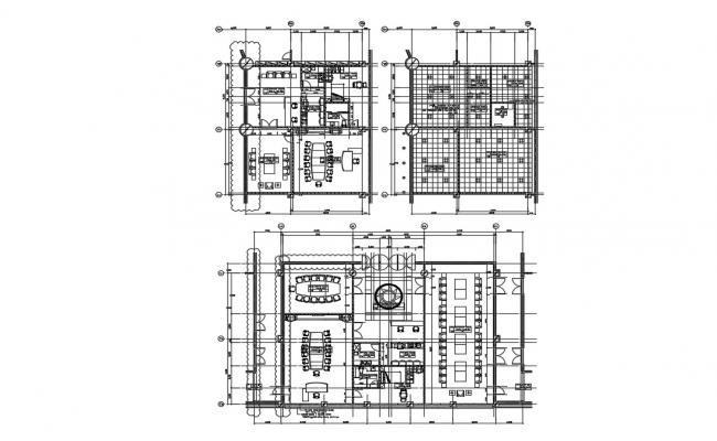 Corporate Office Floor Layout Plan