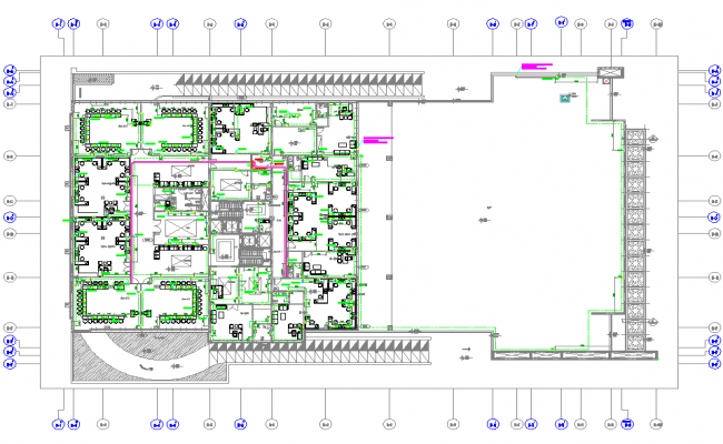 Corporate office layout plan for Office layout planner free