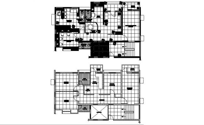 Corporate building office floor plan cad drawing details dwg file