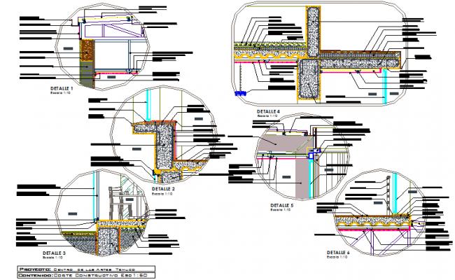 Court temple tarts center detail dwg file