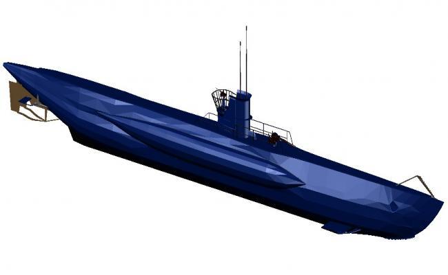 Cruise Ship CAD File