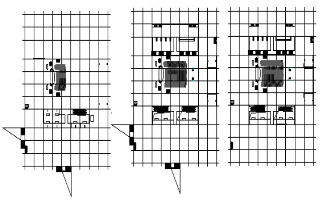 Culture Hall  design drawing for flat