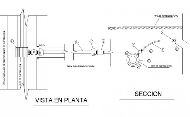 Cutting machine Plant view autocad file
