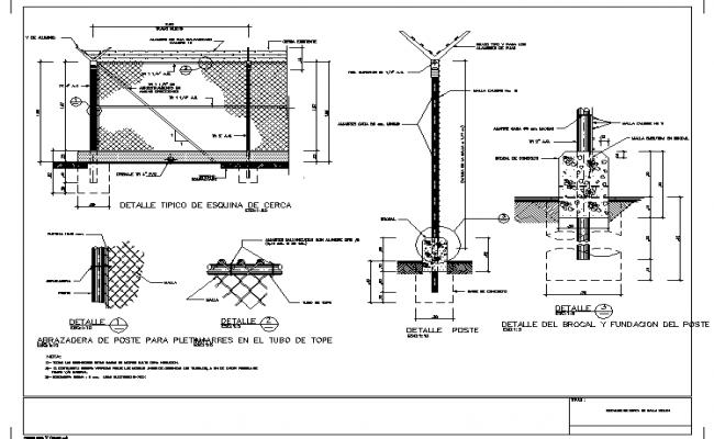 Cyclonal mesh details