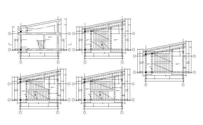 DWG File Different Types Of Stair Plan