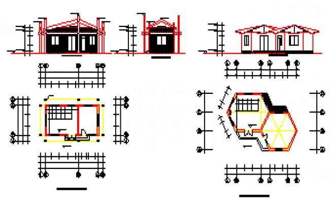Dam control room design drawing