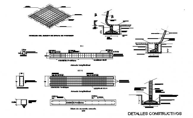 Depth sectional detailing
