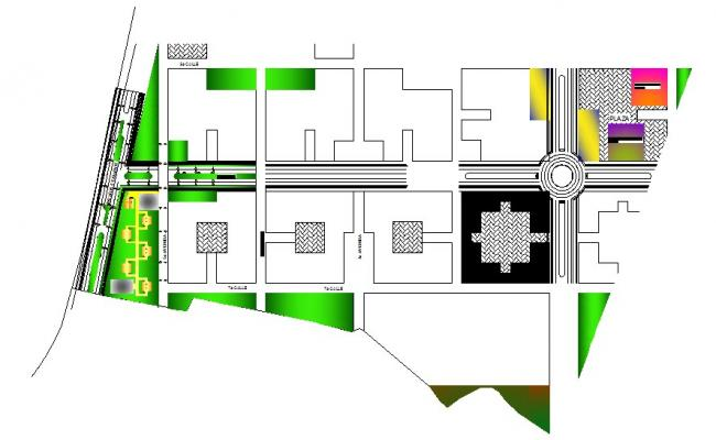 Residence Area In AutoCAD File