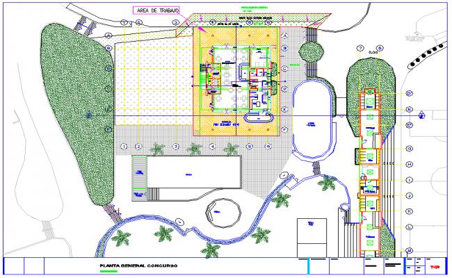 Design of club house