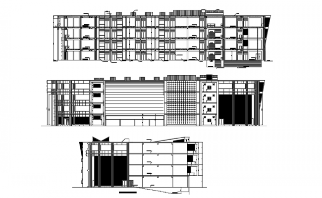 AutoCAD Building Drawing