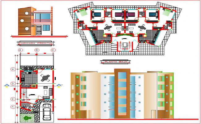 Design of complex housing