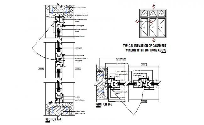 Design of foundation structure in AutoCAD