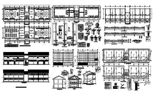 Laboratory Design In DWG File