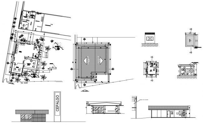 Office Building Design Cad File