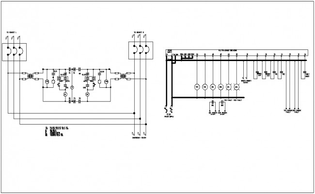 Design of palm tower with electric layout