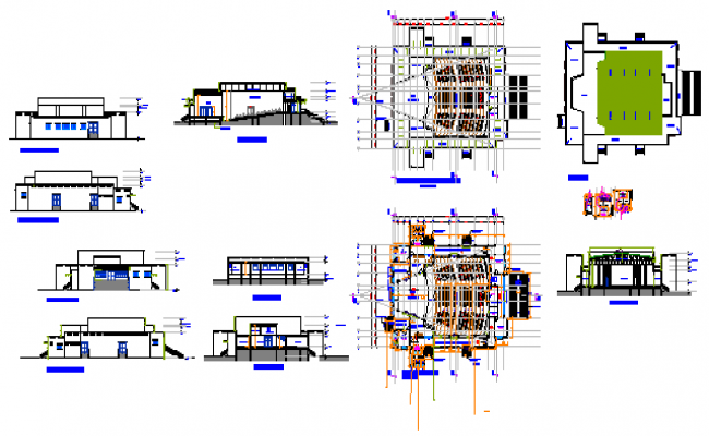 Design of room events design drawing