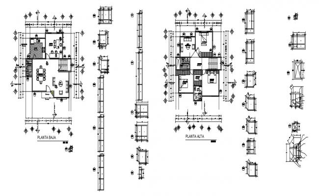 Luxury House Floor Plan In DWG File