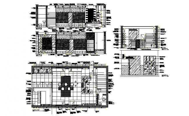 Download Free Shop Design Plan In DWG File