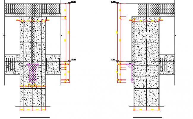 Designs of door and elevation