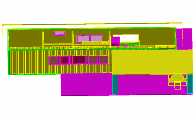 Detail 3 D home dwg file