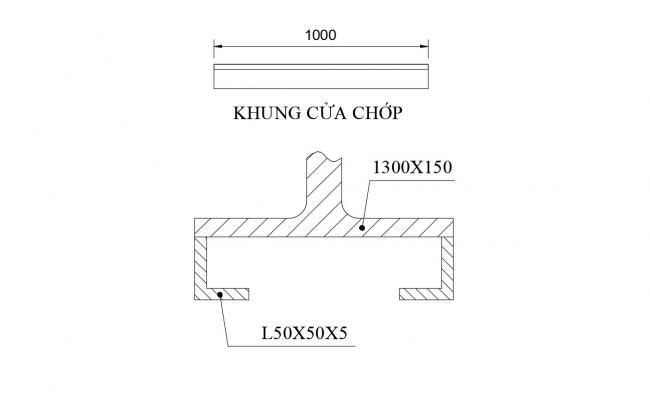 Detail Bar CAD File Free Download
