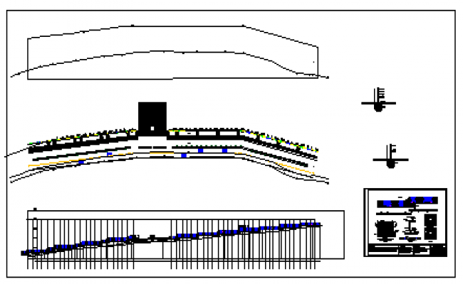 Detail drawing of Perimeter wall design drawing