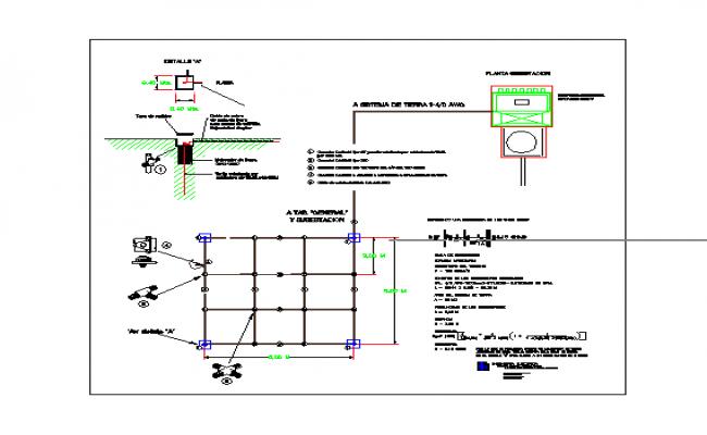 Detail mesh of substation