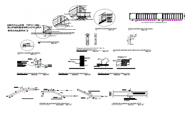 Staircase Details Free AutoCAD File