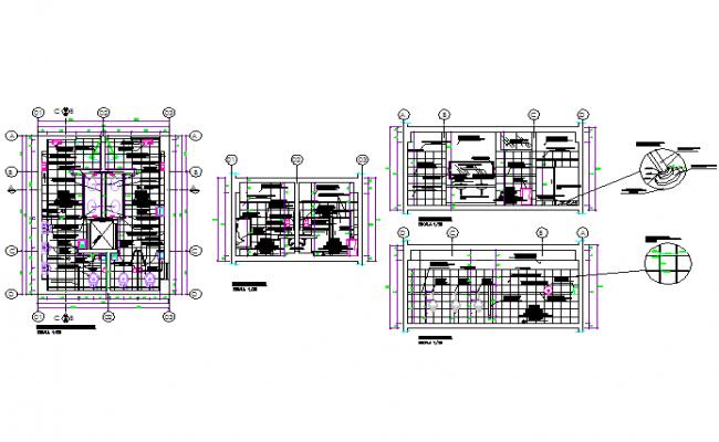 Bath Plan In DWG File
