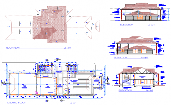 Detail of planing layout file